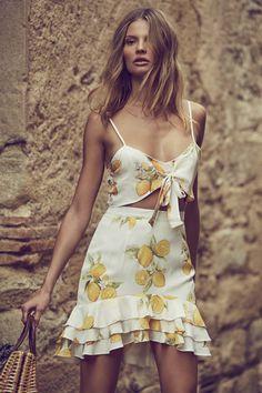 "leah-cultice: ""Magdalena Frackowiak by Zoey Grossman For Love & Lemons Spring 2017 """