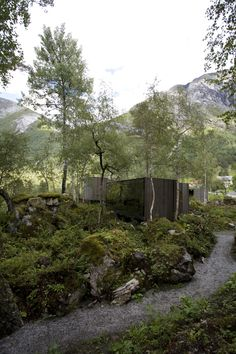 At one with nature: Juvet Landscape Hotel by Jensen Skodvin Architects.