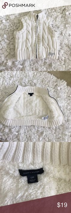 Baby girl winter vest 💕 Super warm and cozy winter vest. Nothing wrong with ur, worn once, looks like new. Tommy Hilfiger Jackets & Coats Vests
