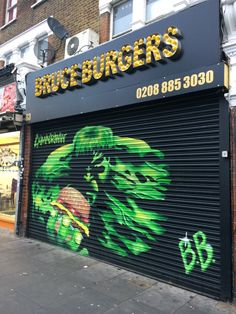Bruce Burgers (in Bruce Grove, north London) North London, London Photos, Burgers, Neon Signs, Hamburgers, Hamburger Patties