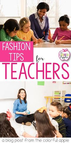 Teacher Fashion Tips for You! Shopping as a teacher can be tricky! You want to look professional, but are also on the floor with kids all day long. Here are my five tried and true tips for staying comfortable, yet sophisticated! Kindergarten Teachers, Elementary Teacher, Elementary Education, School Teacher, Teacher Tips, Teacher Shirts, Teacher Clothes, Teacher Wardrobe, Work Clothes