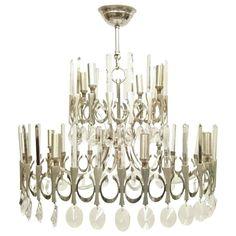 Located using retrostart.com > Ovali Hanging Lamp by Gaetano Sciolari for Sciolari