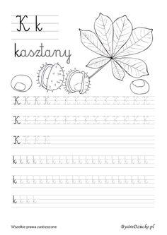 Nauka pisania dla dzieci, b pisane, pomoc w kształceniu grafomotoryki, Anna Kubczak