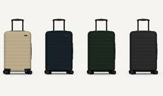 Luggage brand start-up from two former Warby Parker executives features a built-in battery to help travelers stay connected.