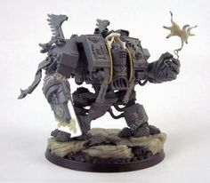 Spikey Bits Warhammer 40k, Fantasy, Conversions and Painted Miniatures: Librarian Dreadnought of Awesome Conversion