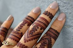 Trendy tattoo finger lines tatoo ideas Finger Mehendi Designs, Wedding Henna Designs, Indian Henna Designs, Stylish Mehndi Designs, Mehndi Designs For Fingers, Mehndi Design Images, Beautiful Mehndi Design, Best Mehndi Designs, Henna Tattoo Hand