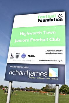 Highworth Town Juniors Football Club Sponsorship #community #sponsorship #football #swindon