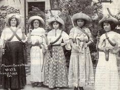 "Adelita - The women fighting in the revolutionary troops during the Mexican Revolution (1910-1920) were generally dubbed ""Adelita"", a pet name for Adela. It is now known whether an ""original"" Adelita..."