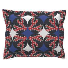Sebright Pillow Sham with Flanged Detail featuring Popco by joancaronil | Roostery Home Decor