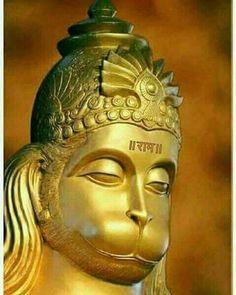 Shree Hanuman Chalisa, Hanuman Murti, Bal Hanuman, Jai Hanuman Images, Hanuman Photos, Hanuman Tattoo, Hanuman Ji Wallpapers, Hindu Deities, Hinduism