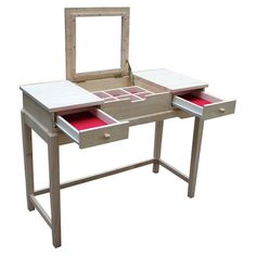 Found it at Wayfair - Unfinished Vanity Table $157.00