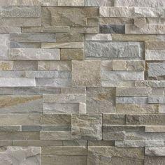 Plaquette de parement Elégance, pierre naturelle, beige   Leroy Merlin 39.90m2