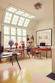 Home Decor Living Room .Home Decor Living Room Home Art Studios, Art Studio At Home, Studio Room, Studio Spaces, Dream Studio, Interior Exterior, Home Interior Design, Interior Architecture, Studio Interior