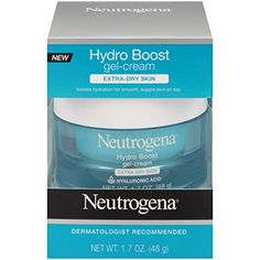 Use #NEUTROGENA  Hydro Boost Gel-Cream to provide long-lasting moisture relief for your extra-dry skin. This gel-cream moisturizer helps quench extra-dry skin an...