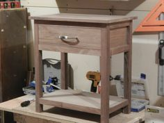 #KregJig Project: Walnut Nightstand