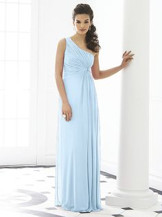 Light blue bridesmaid dress - see more ideas on http ...