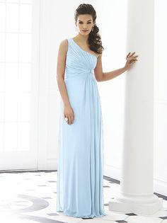 beautiful soft blue bridesmaids dresses  www.onefabday.com ...