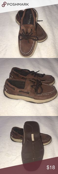 Boys Sperry Top-Sider Shoes - Size 13 Boys Sperry Top-Sider Shoes - Size 13, shoes are chocolate brown and worn very little.  Have been sitting in my son's closet. Sperry Top-Sider Shoes