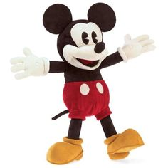 Would you mind lending the Full Body Mickey Mouse Disney Puppet by Folkmanis Puppets a hand? This amazing plush Mickey Mouse puppet really needs your help! Mickey Minnie Mouse, Mickey Mouse Characters, Classic Disney Characters, Classic Mickey Mouse, Mickey Mouse And Friends, Disney Stuffed Animals, Disney Plush, Disney Disney, Disney Toys