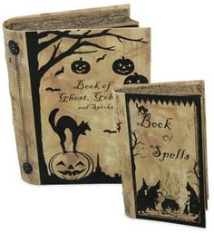 Book of Spells Nesting Boxes