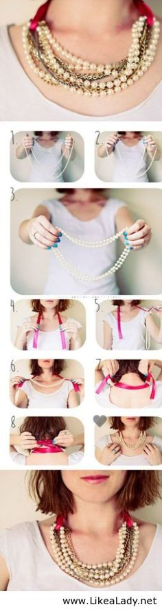 DIY Statement-Kette
