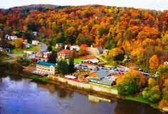 Little village of Foxburg PA, very quaint..