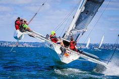 Celebrity ProAm race puts fresh wind in Festival of Sails Sail World, Fast Boats, Catamaran, Sailing, Technology, Bare Essentials, Celebrity, Fresh, Sports