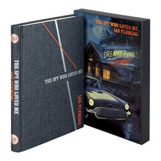 The Book Bond: The Folio Society releases The Spy Who Loved Me James Bond Titles, James Bond Books, Book Of James, New James Bond, Folio Books, Bond Series, Spy Who Loved Me, Thriller Books, The Secret History