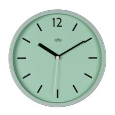 Trouva: Wild Wood Swedish Green Wall Clock