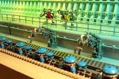 Turtle Factory - Sector 37 by Legoloverman, via Flickr