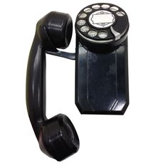 Black Automatic Electric Spacemaker Phone Model 43
