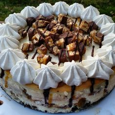 Earning Your Apron: Snickers Cheesecake with Oreo Crust