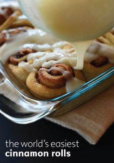 The easiest cinnamon roll dessert for beginners or pros-- you'll want to see this!