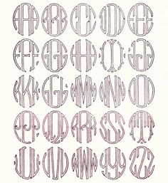 Nice tutorial on how to hand embroider monograms.