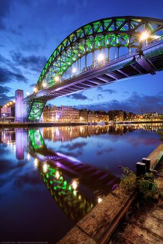 The Road Bridge, Newcastle, England by Fragga on Flickr.