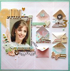 MINI ENVELOPE EMBELLISHMENTS - I AM - Scrapbook.com I love all these little envelopes!