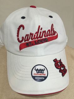 A personal favorite from my Etsy shop https://www.etsy.com/listing/397865713/st-louis-cardinals-womens-swarvoski