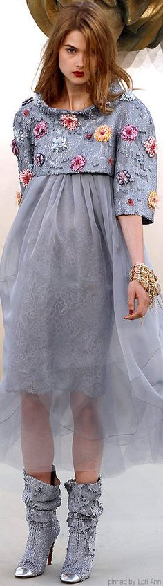 Chanel Couture Fall 2010 | The House of Beccaria~