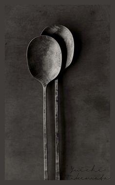 Beautiful cutlery by metal artist Yuichi Takemata