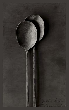 Beautiful cutlery by metal artist Yuichi Takemata
