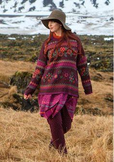 """Gudrun Sjödéns Januar Highlights - Natur pur! Der Islandpullover ist von der isländischen Landschaft inspiriert und hält so schön warm. Bestellt den reduzierten Pullover """"Hildur"""" aus Baumwolle/Wolle jetzt für nur 54,00 Euro anstatt 109,00 Euro. http://www.gudrunsjoeden.de/mode/produkte/pullover-shirts"""