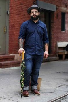 Image result for overweight men's fashion