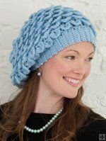crocodile stitch slouch hat