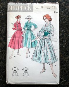 Butterick 8190: it's so cold I obviously have garden party on the brain....