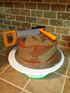 Handyman cake. Tools cake. Carpenter cake.
