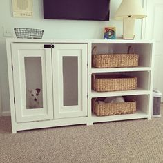 Built-In with Built-In dog crate