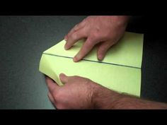 how to make a basic paper airplane