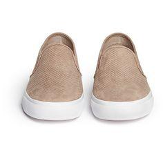 fb152feb6 Tory Burch  Lennon  cobra effect leather skate slip-ons (€205)