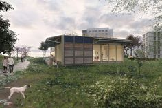 A house that doubles as a bike shop, market, and more is being built by the Swiss Team for Solar Decathlon 2017.