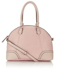 Donna Dome Shoulder Bag from Accessorize Couleur Rose Pale, Kate Bosworth Style, Accessorize Bags, Day Bag, Women's Accessories, Shoulder Bag, Handbags, Purses, Stuff To Buy